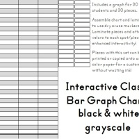 Interactive Classroom Bar Graph Freebie