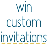 Grab a Giveaway: Party Invitation Custom Design!