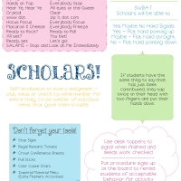 Classroom Management Cheat Sheet
