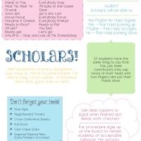 Classroom Management Cheat Sheet