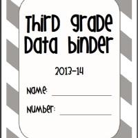 Data Binder {FREEBIE}