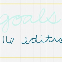 2016 Goals (and an update)